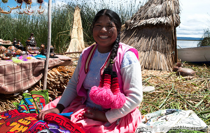 Los Uros Lake Titicaca Folklore in modern society