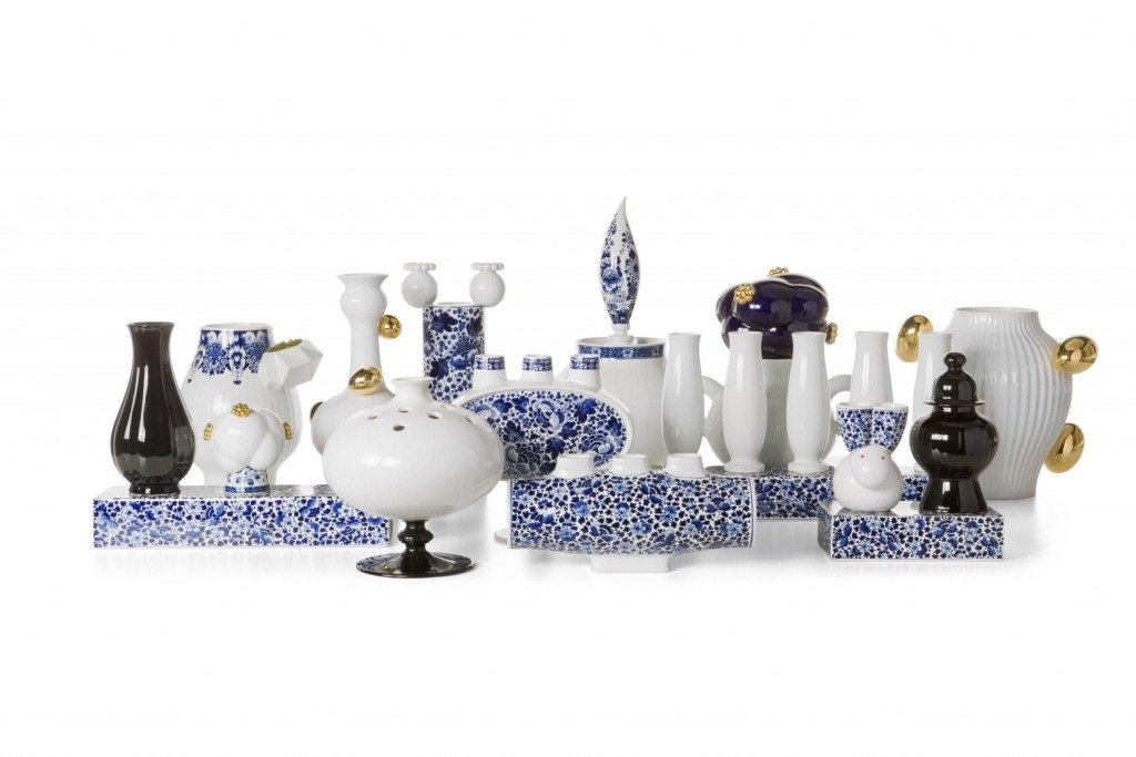 Marcel Wanders designed objects from MOOOI's Delft Blue Collection (moooi.com)
