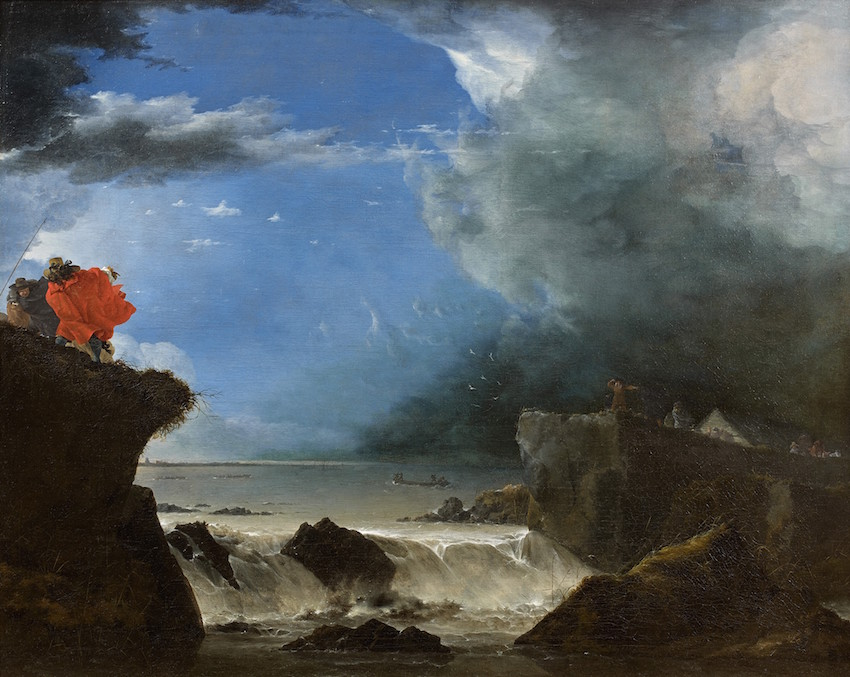 Jan Asselijn -The breach of the St Anthonisdike in Amsterdam