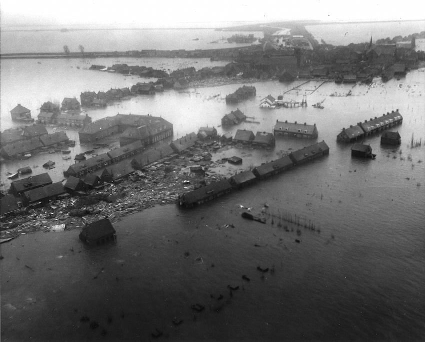North Sea Flood Waternoodsramp