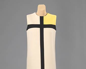 The Mondrian dress by Yves Saint Laurent.