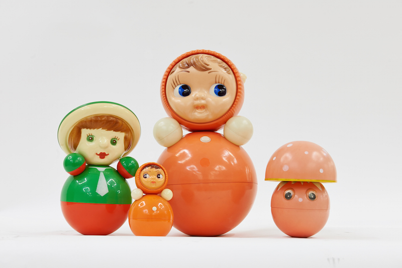 Nevalyashka toy Russian tilting doll