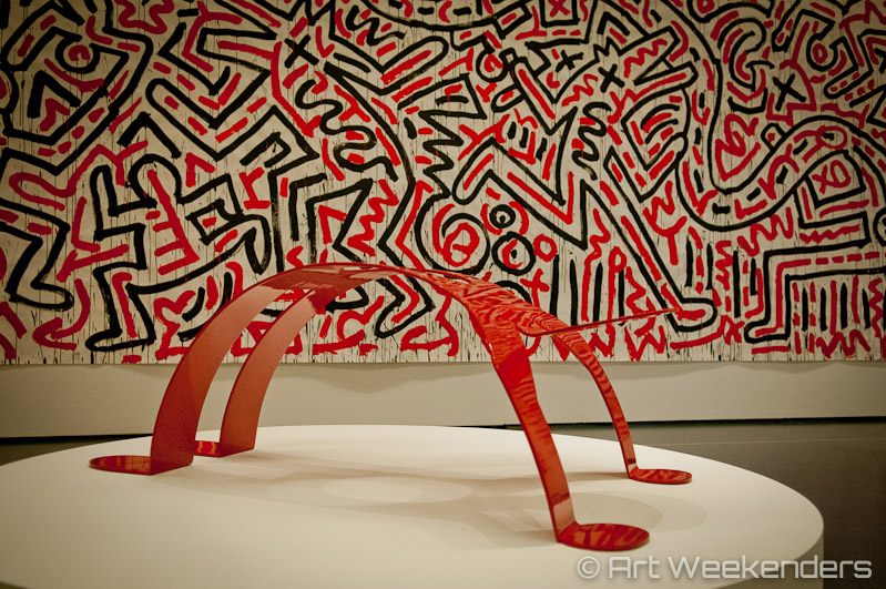 The_Netherlands_Rotterdam_Keith_Haring_Political_Line_Kunsthal_dancing_figure