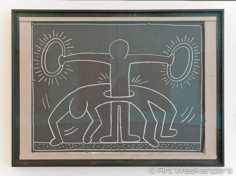 The_Netherlands_Rotterdam_Keith_Haring_Political_Line_Kunsthal_Subway_Graffiti