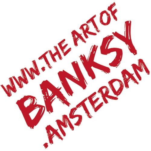 The Art of Banksy Amsterdam Beurs van Berlage