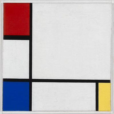 Mondriaan, composition No. IV, with Red, Blue and Yellow Stedelijk Museum Amsterdam