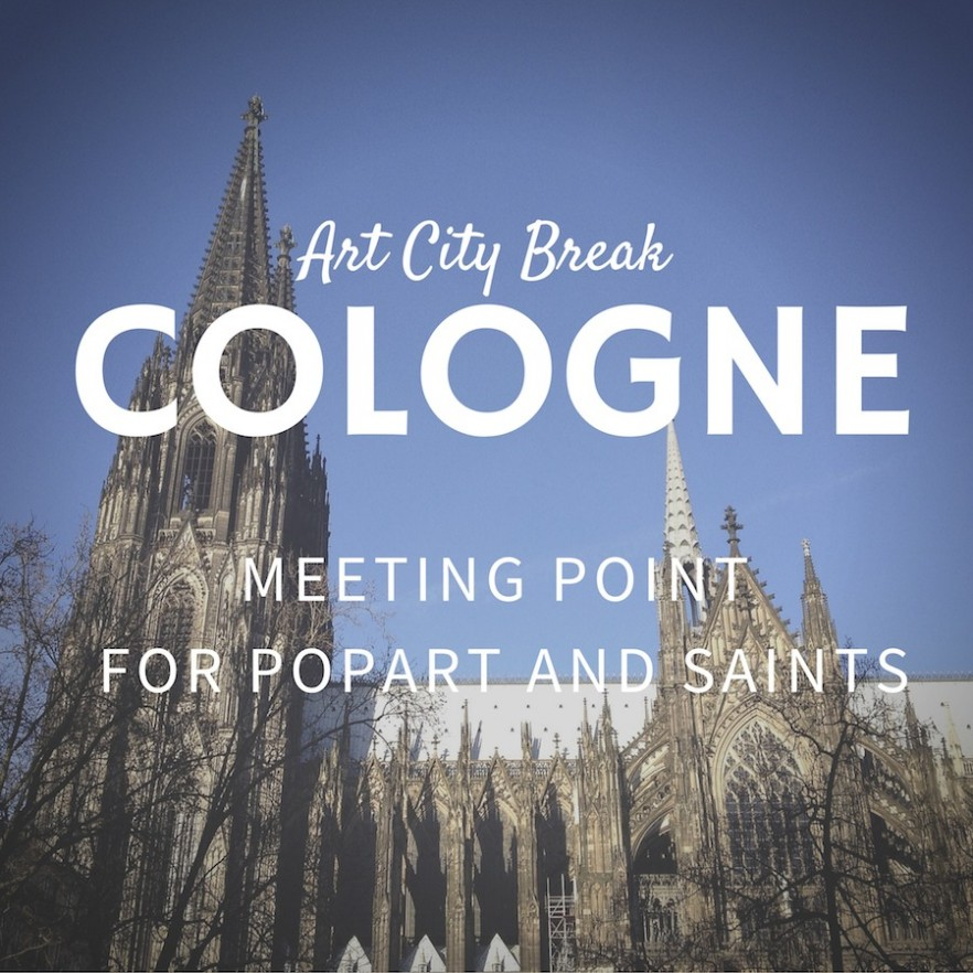 City-Break-Cologne-Germany-cathedral-meeting-point-popart-saints